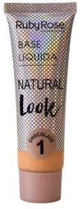 Base líquida Atacado cor 1 natural Look Chocolate