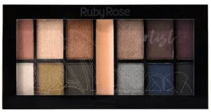 Promocao Kit de Sombras Artist Ruby Rose