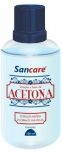 Acetona Sancare 100 ml Atacado