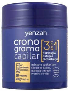 Yenzah Cronograma Capilar 3 Em 1 Máscara Capilar