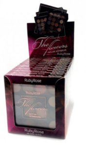 Paleta de Sombras e Primer The Flowers Ruby Rose Atacado