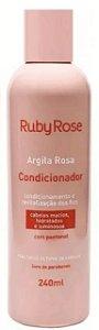Condicionador Argila Rosa Ruby Rose Atacado Kit com 03 peças