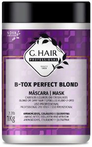 G HAIR B-TOX PERFECT BLOND 1KG 57093