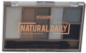 Paleta de Sombras 6 Cores Natural Daily SP Colors C