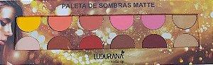 Paleta de Sombras Matte Ludurana