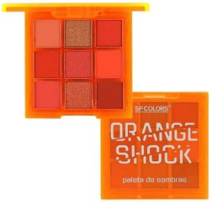 Paleta de Sombras Orange Shock SP Colors