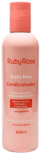 Condicionador Argila Rosa Ruby Rose