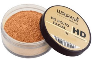 Pó Solto Facial HD Ludurana Suave Natural 2