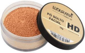 Pó Solto Facial HD Ludurana Suave Natural