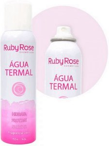 Agua Termal Sem Fragrancia Ruby Rose