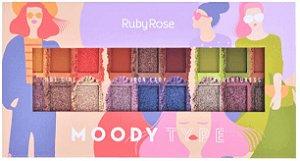 Paleta de Sombras Moody Ruby Rose