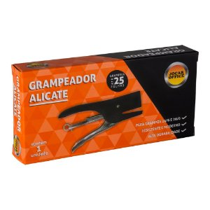 GRAMPEADOR TIPO ALICATE PARA 25 FOLHAS