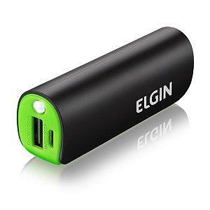 CARREGADOR POTÁTIL 2600MAH (ACOMPANHA 1 CABO MICRO USB) ELGIN