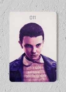 Eleven - Quadro Woodprint - Stranger Things