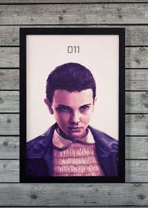 Eleven - Quadro Canvas Frame - Stranger Things