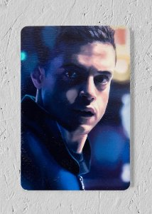Elliot - Quadro Woodprint - Mr. Robot