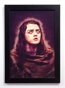 Arya - Quadro - Game of Thrones