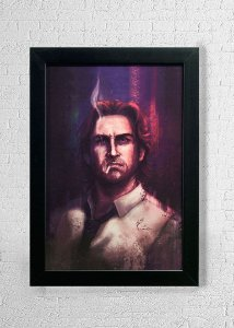 Bigby - Quadro - The Wolf Among Us