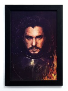 Jon Snow - Quadro - Game of Thrones
