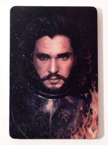 Jon Snow - Quadro Woodprint - Game of Thrones