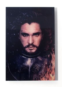 Jon Snow - Quadro Acrílico - Game of Thrones