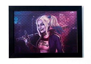 Harley Quinn (Arlequina) - Quadro - Esquadrão Suicida