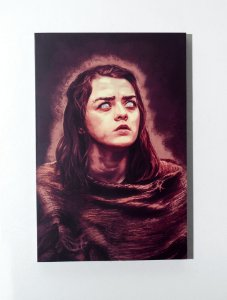 Arya - Quadro MDF - Game of Thrones