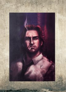 Bigby - Quadro MDF - The Wolf Among Us