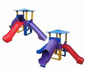 Playground Aerodinâmico 3,40x1,90x3,50 Cm