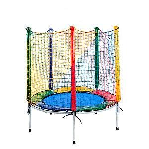 Cama elástica Multicolorida 1,40m