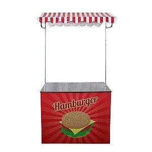 Barraca vintage hambúrguer