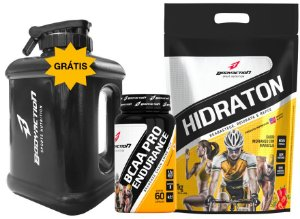 Kit Endurance Hidraton 1kg + Bcaa Pro + Galão água Grátis