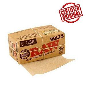 Raw | Seda Clássica Em Rolo 5 Metros - Original