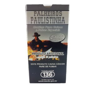 PALHEIROS PAULISTINHA | CIGARRO DE PALHA - COM FILTRO