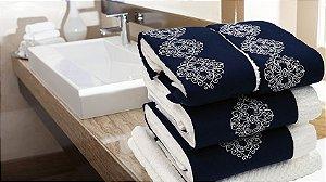 Jogo de toalha Bordado Celine - Enxovart