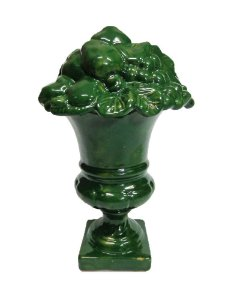 Taça Seregno de Frutas Verde 21x37 CM