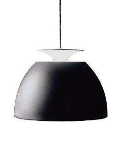 Luminária de Teto em Metal Bossa Preto 50X30cm
