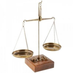 Balança Decorativa Indiana 21X24X13 CM