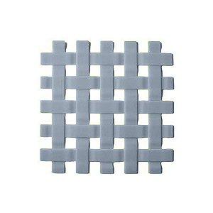 Descanso para Panela Silicone Cinza 17,5X17,5cm