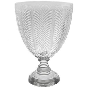 Vaso de Vidro Transparente 27x39cm