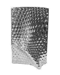 Vaso de Cerâmica Mathelado Prata 40cm