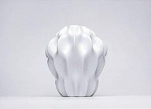 Vaso de Porcelana Plissan P 30cm