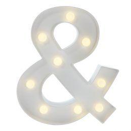 "Letra Luminosa ""&"" 32cm"