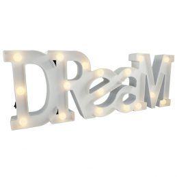 Luminária Dream com Leds Branco