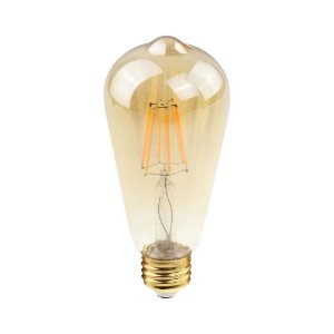 Lâmpada Filamento de LED ST38 E27 2W 200LM 2400K Bivolt