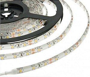 Fita de LED 3528 IP65 300 LEDS 24 WATTS 12V 5 Metros