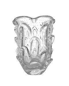 Vaso de Cristal Transparente 19x24cm