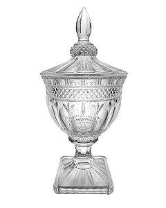 Bomboniere de Cristal Transparente 18x40cm