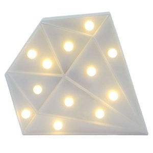 Diamante Luminoso Branco 24cm