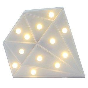 Diamante Luminoso Branco 24cm